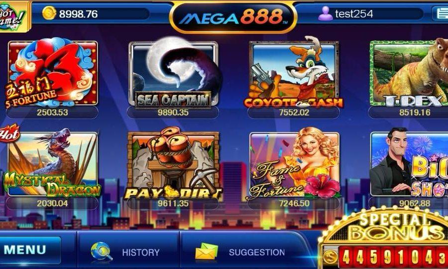 Win Large Jackpots Daily : Slot Games Mega 888